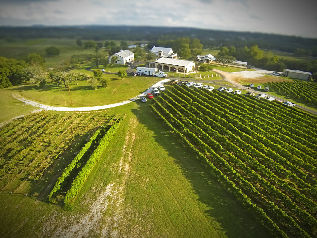 Drone Demo Day Texas Wine Trail Quot Grower S Field Day Quot